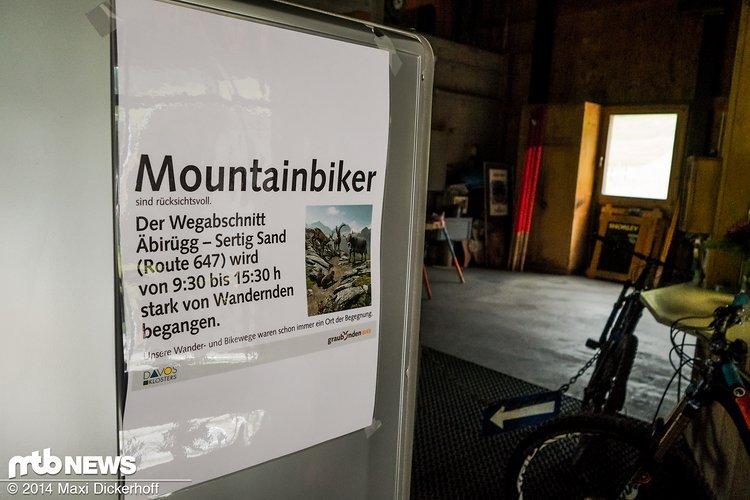 Wander- und Bike-Wege als Ort der Begegnung: Diese Devise sollte sich jeder von uns einprägen!
