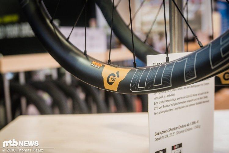 Die WTB Carbon Wheels kommen für den Enduro-Einsatz jetzt neu mit 31 mm Innenweite