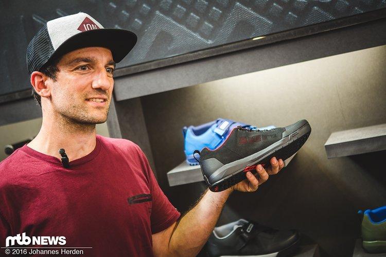 Andi präsentiert uns die neuen ION-Schuhe