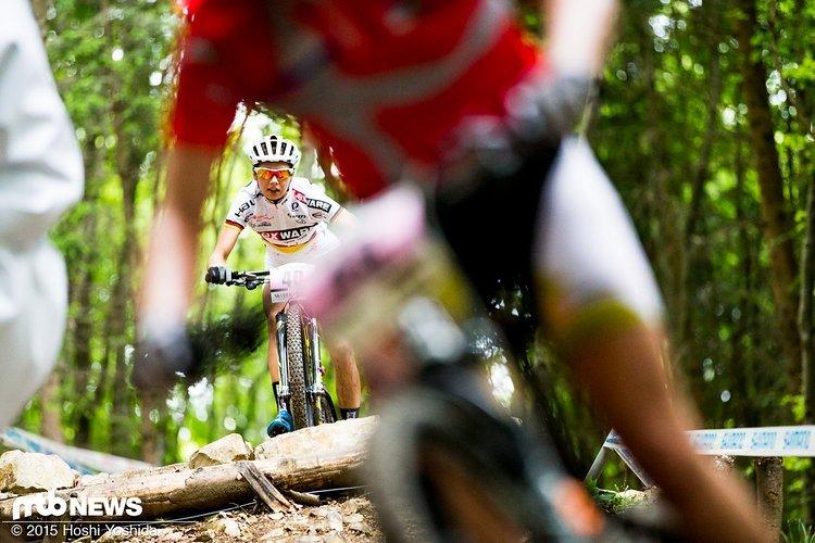 Muss aus Altersgründen das Lexware Mountainbike Team verlassen: Lena Wehrle.