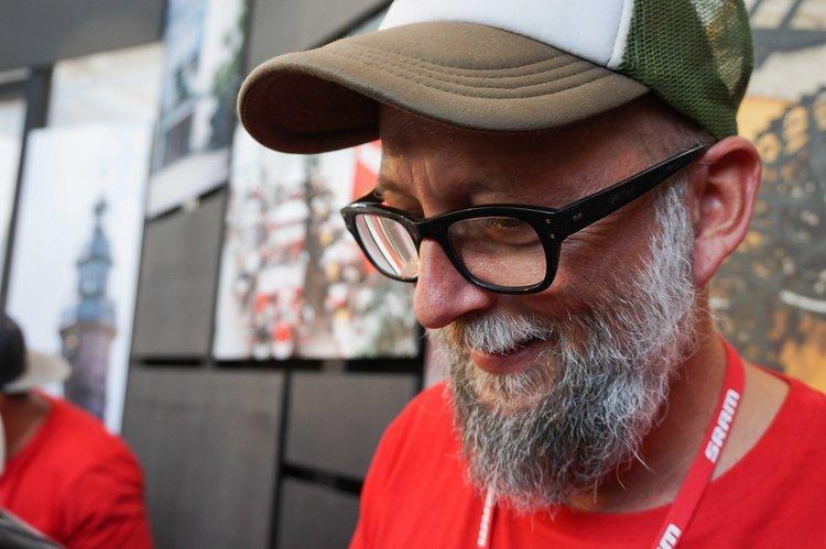 Mike Mangold aus Schweinfurt kümmert sich bei SRAM um guten Kaffee
