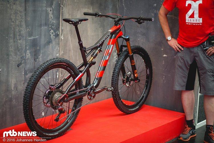 Das neue leichte Trailbike von Rotwild