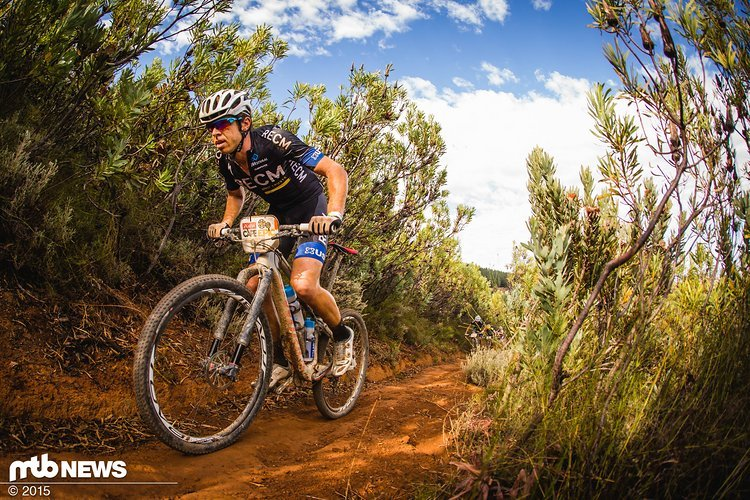 Erik Kleinhans wird 2016 mit einem grün-schwarzen Trikot am Start des Cape Epics stehen.